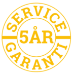 Servicegaranti 5 år