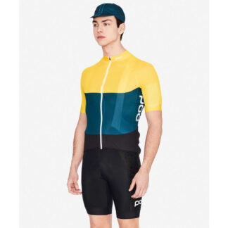 POC Essential Road Light Jersey Yellow Blue