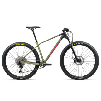 Orbea Alma M50 Savage Green Bright Red