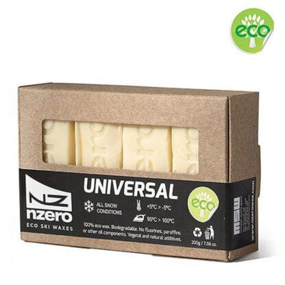 nzero eco ski wax universal 200g
