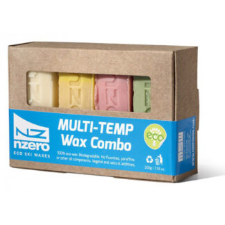 nzero eco ski wax multi-temp wax combo