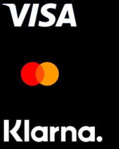 Visa, MasterCard & Klarna